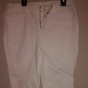 White Old Navy pants